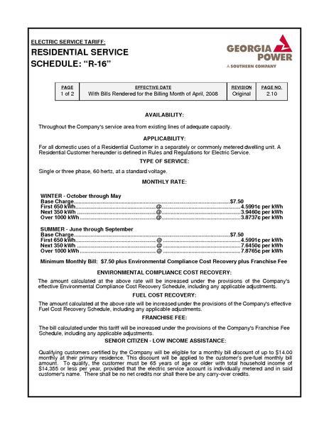 File:Utility Rate Georgia Power res.pdf