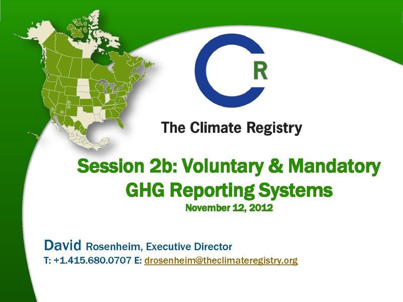 File:David Rosenheim - LAC LEDS Forum Session 2b Vol & Mand GHG Reporting Systems.pdf