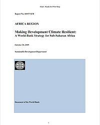 Making Development Climate Resilient: A World Bank Strategy for Sub-Saharan Africa Screenshot