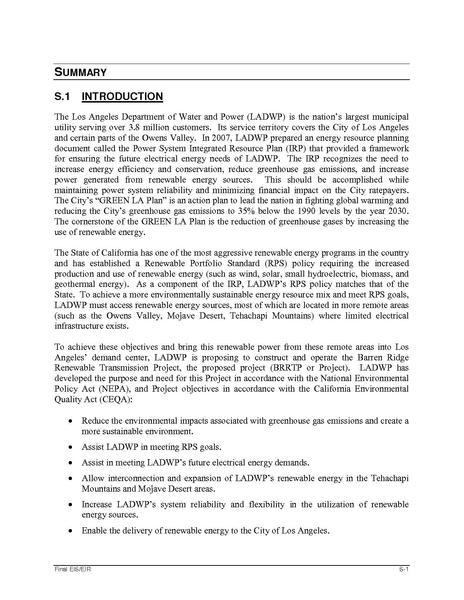 File:Barren Ridge FEIS-Volume I Chapter 0 Summary FINAL-R.pdf