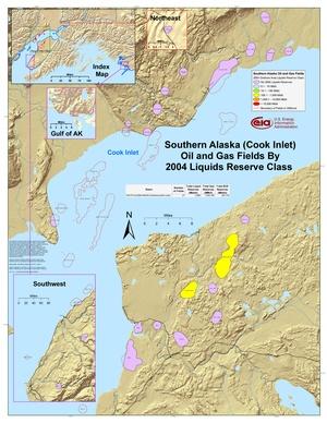 Alaska's Cook Inlet By 2001 Liquids Reserve Class