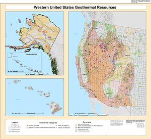 Western United States Geothermal Resources