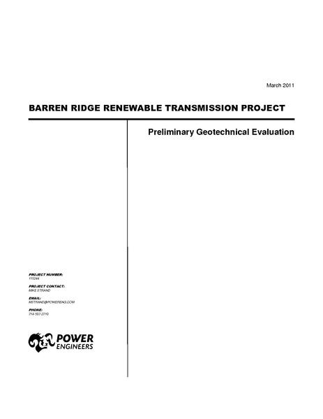 File:Barren Ridge FEIS-Volume IV Geo Tech Rpt Final March 2011.pdf