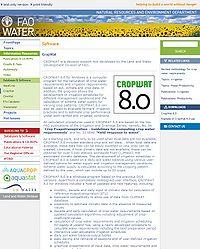 CROPWAT 8.0 Screenshot