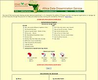 Africa Data Dissemination Service Screenshot