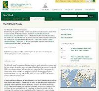 Modeling International Relationships in Applied General Equilibrium (MIRAGE) Screenshot