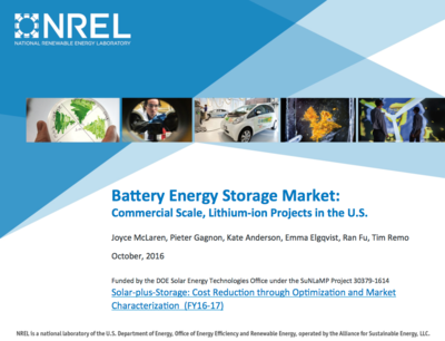 Battery Energy Storage Market