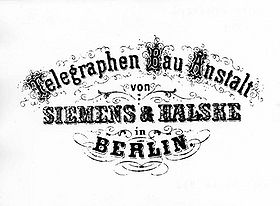 Early Siemens & Halske logo