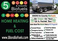 Logo: 5 boro biofuel