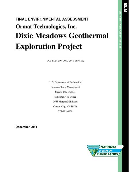 File:EA DOI-BLM-NV-C010-2011-0516-EA DixieMdwsExplor.pdf