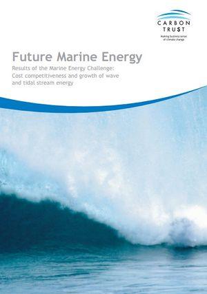 Documento Future marine energy
