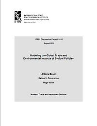Modeling the Global Trade and Environmental Impacts of Biofuel Policies Screenshot
