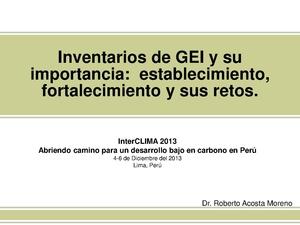 Roberto Acosta - Inventarios de GEI y su importancia.pdf
