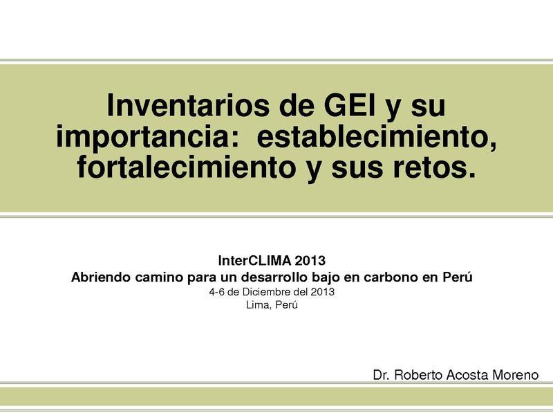 File:Roberto Acosta - Inventarios de GEI y su importancia.pdf