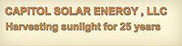 Logo: Capitol Solar Energy LLC