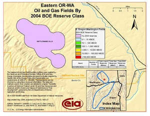 Eastern Oregon and Washington By 2001 BOE Reserve Class
