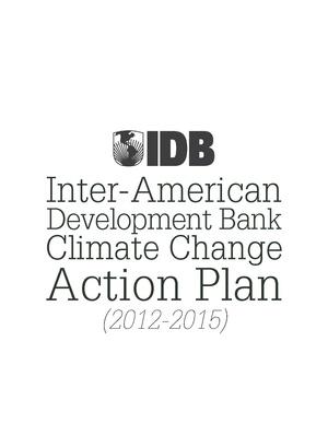 Inter-American Development Bank Climate Change Action Plan (2012-2015).pdf