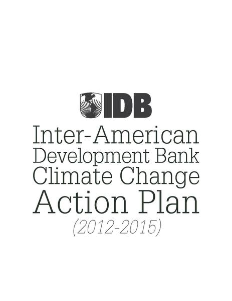 File:Inter-American Development Bank Climate Change Action Plan (2012-2015).pdf