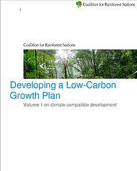 CfRN Low Carbon Growth Plan Screenshot