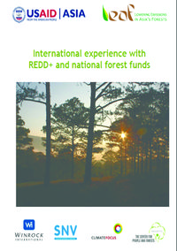 International experience with REDD+ and national forest funds Screenshot