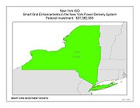 Coverage Map: New York Independent System Operator, Inc. Smart Grid Project