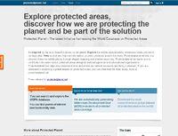 Protected Planet Screenshot
