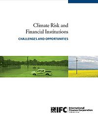 Climate Risk and Financial Institutions Screenshot