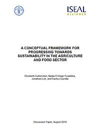 A Conceptual Framework for Progressing Towards Sustainability in the Agriculture and Food Sector Screenshot