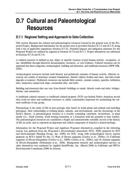 File:Devers Palo Verde No2-FEIS D7 Cultural and Paleontological Resources.pdf