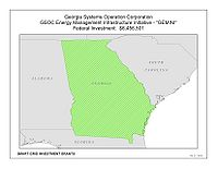 Coverage Map: Georgia System Operations Corporation Inc. Smart Grid Project