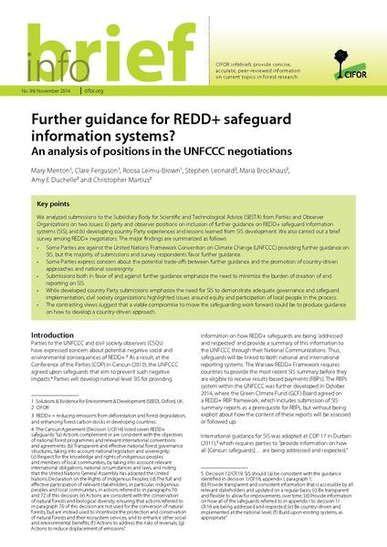 File:Briefinfo cifor furtherguidanceforredd++.pdf