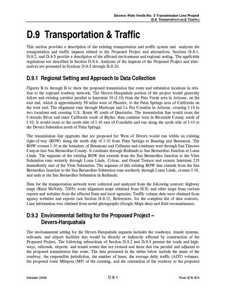 File:Devers Palo Verde No2-FEIS D9 Transportation and Traffic.pdf