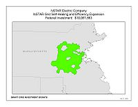 Coverage Map: NSTAR Electric Company Smart Grid Project