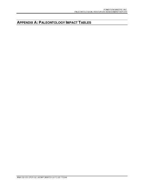 File:Barren Ridge FEIS-Volume IV Paleo Appendix A Paleontology Impact Tables.pdf