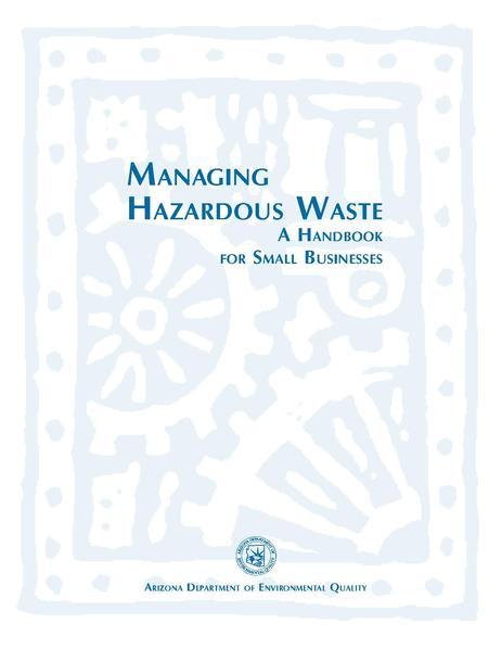 File:ADEQ Managing Hazardous Waste Handbook.pdf
