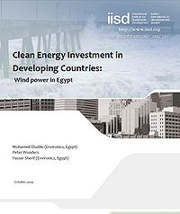 Clean Energy Investment in Developing Countries: Wind Power in Egypt Screenshot