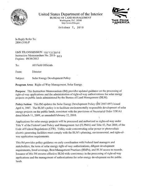File:IM2011-003 Solar Development Policy.pdf
