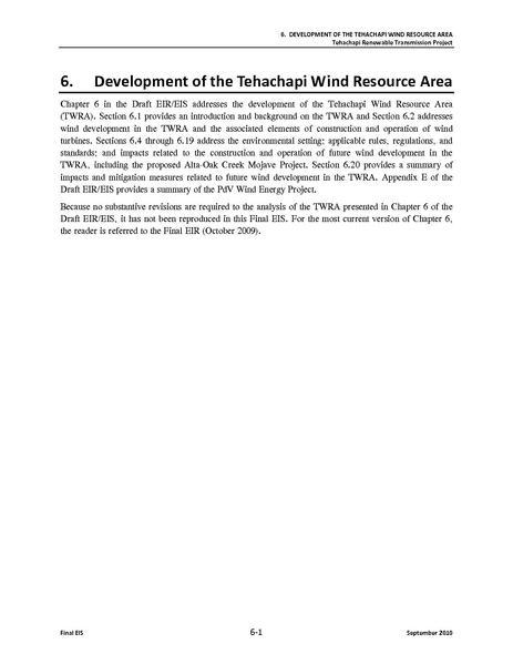 File:Tehachapi Renewable FEIS Volume II 7 Development of the Tehachapi Wind Resource Area.pdf
