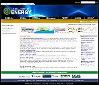 DOE Energy Technology Prices and Trends Screenshot