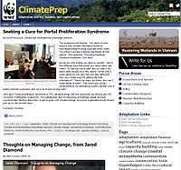 WWF-Climate Prep Screenshot