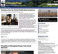 WWF-Climate Prep Screenshot