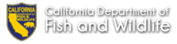 Logo: California Department of Fish & Wildlife