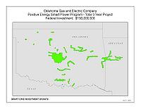Coverage Map: Oklahoma Gas and Electric Company Smart Grid Project