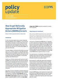 How to get Nationally Appropriate Mitigation Actions (NAMAs) to work Screenshot