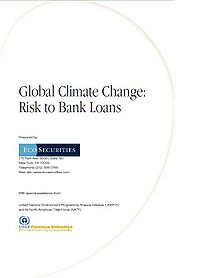 Global Climate Change: Risk to Bank Loans Screenshot