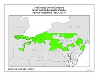 Coverage Map: FirstEnergy Service Company Smart Grid Project