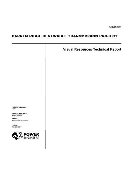 File:Barren Ridge FEIS-Volume III Visual Resources.pdf