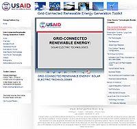 Grid-Connected Renewable Energy Generation Toolkit-Solar Screenshot