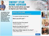 Home Energy Advisor Screenshot