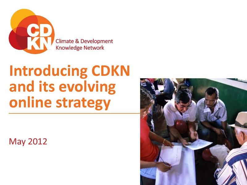File:Introduction to CDKN and its online strategy May 2012.pdf